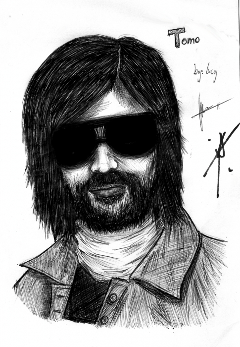 Tomo Milicevic by LucyRedfield